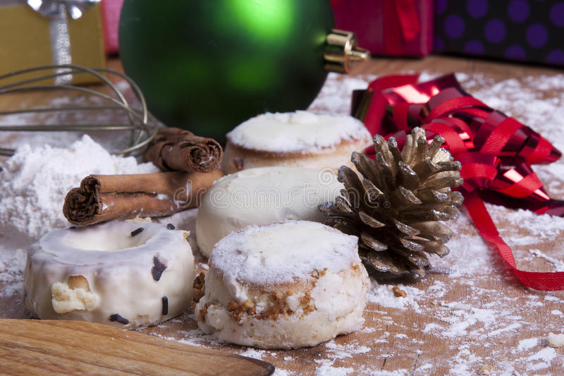 Dessert di Natale immagine stock libera da diritti