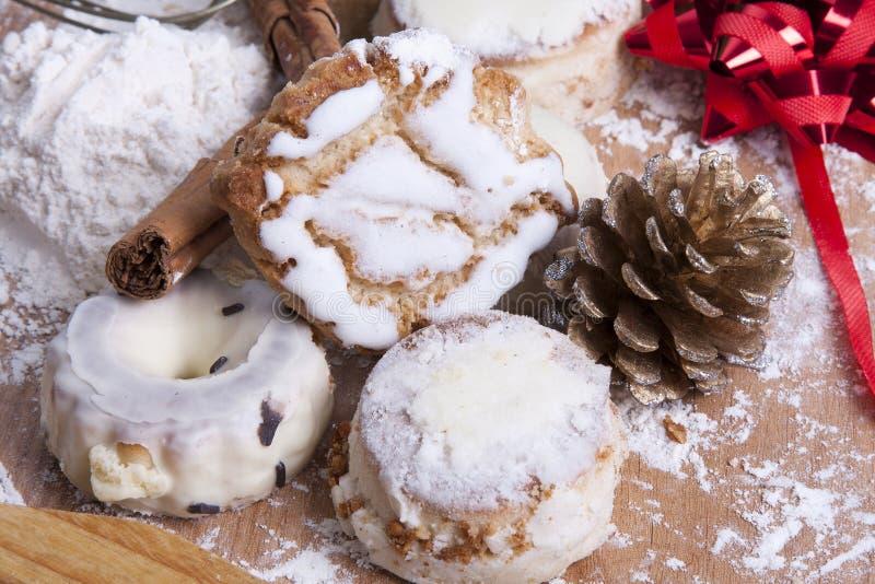 Dessert di Natale immagini stock libere da diritti