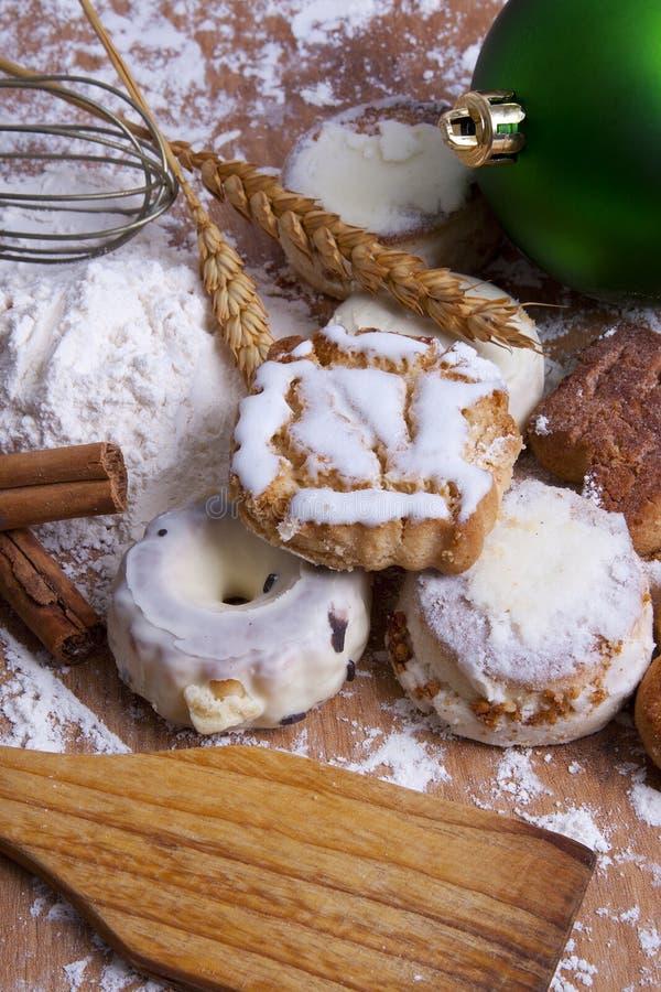 Dessert di Natale fotografie stock libere da diritti