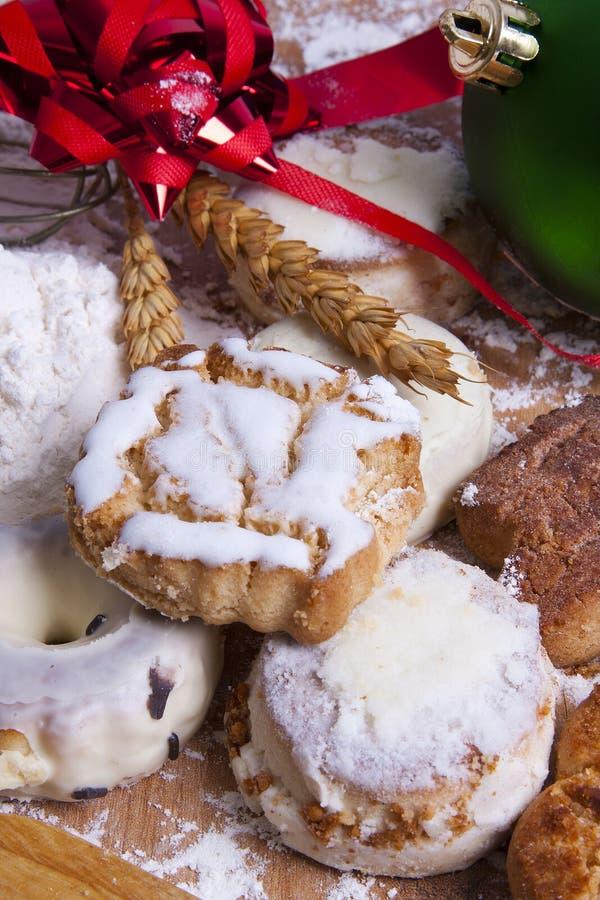 Dessert di Natale fotografie stock