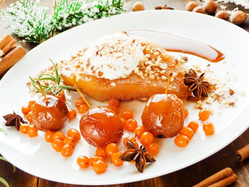 Dessert di Natale immagine stock
