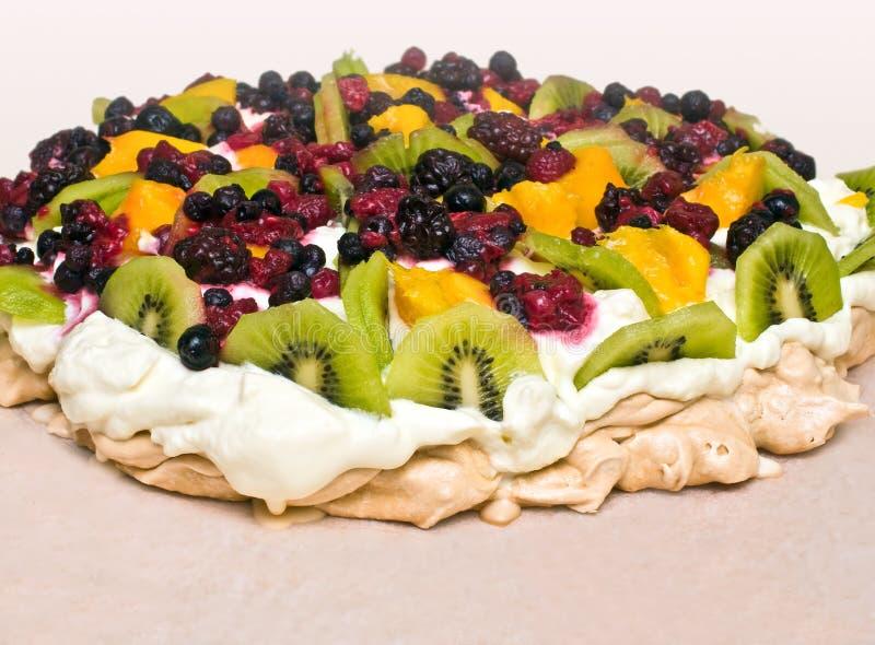 Dessert di Pavlova immagini stock