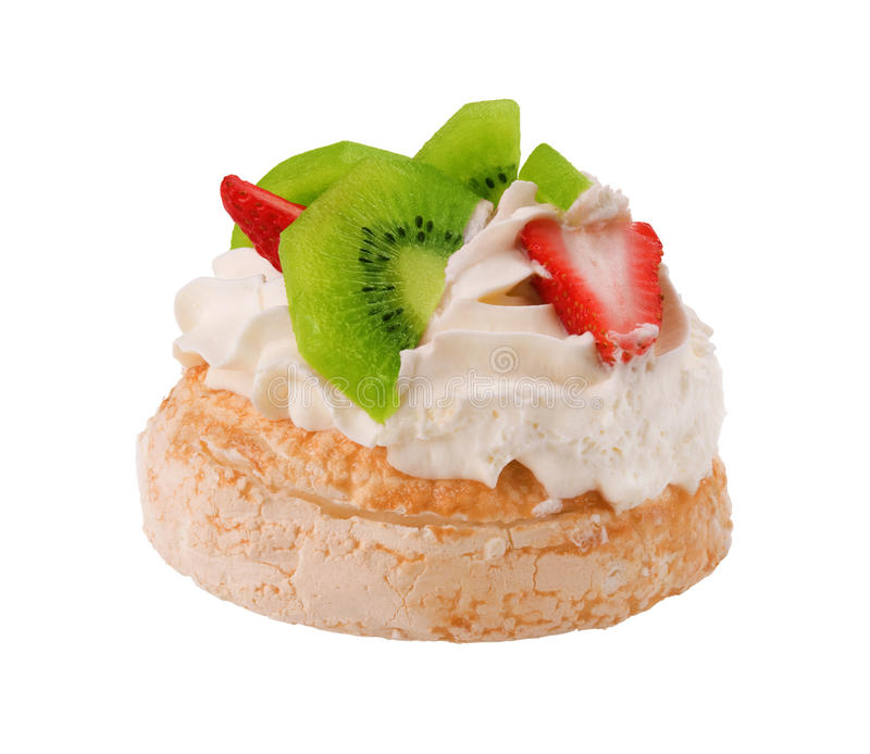 Dessert di Pavlova fotografia stock libera da diritti