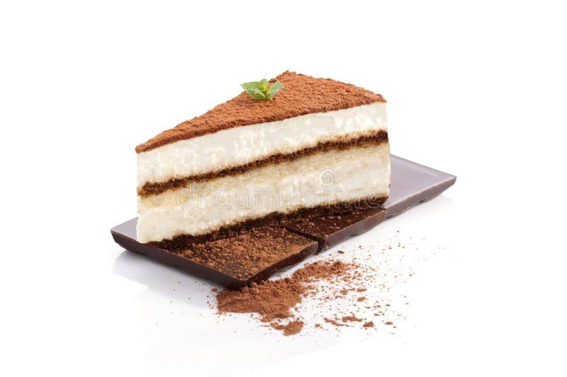 Dessert di tiramisù. fotografie stock libere da diritti