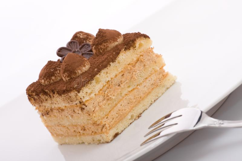 Dessert di tiramisù fotografia stock libera da diritti