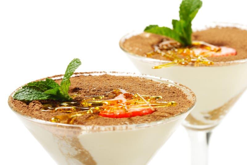 Dessert di Tiramisu immagini stock libere da diritti
