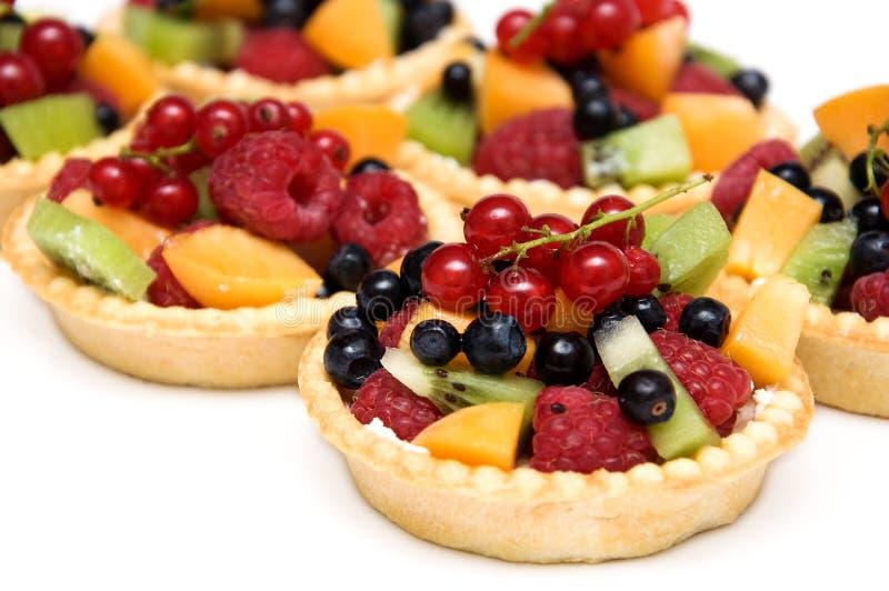 Dessert doux de baies images stock