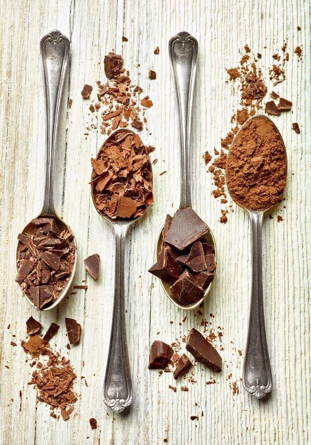 Dessert doux de nourriture de chocolat photographie stock libre de droits
