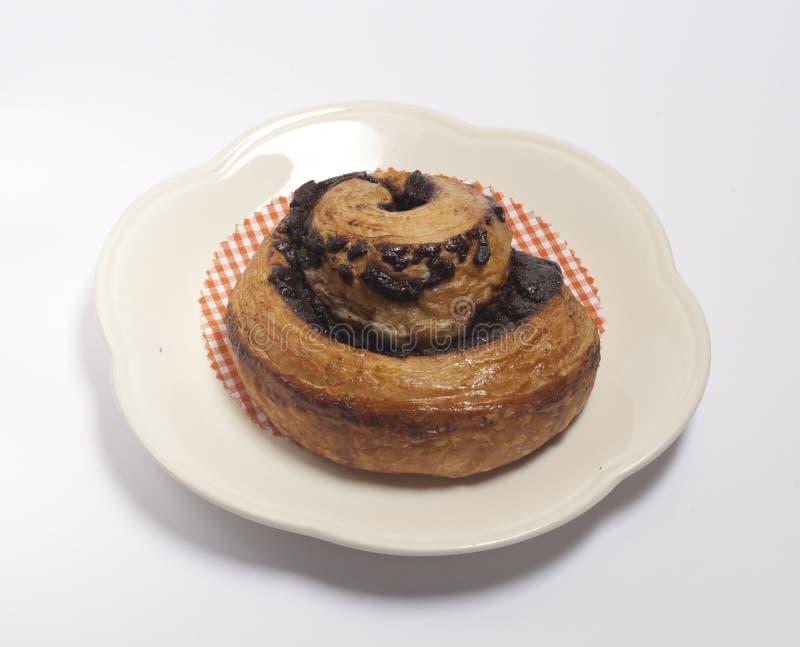 Dessert doux de nourriture de mini chocolat de pâtisserie photographie stock libre de droits