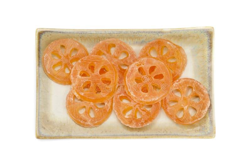 Dessert doux de pièce de Bael sur le paraboloïde images libres de droits