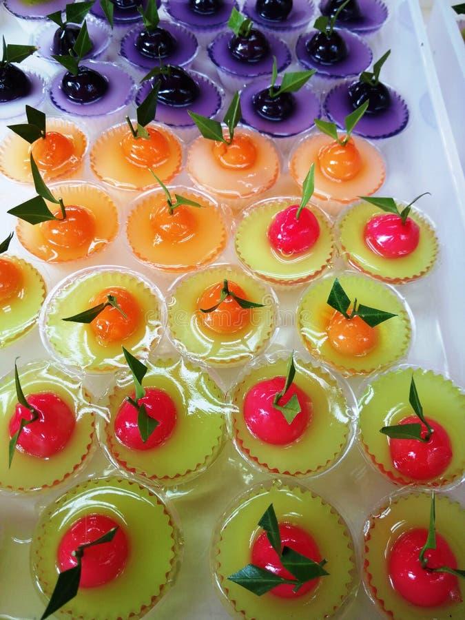 Dessert doux thaï photographie stock libre de droits