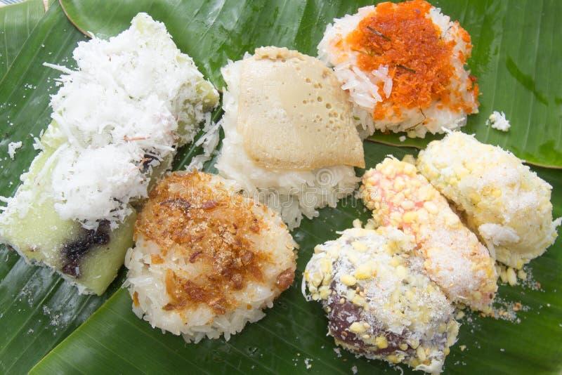 Dessert doux thaï photos stock