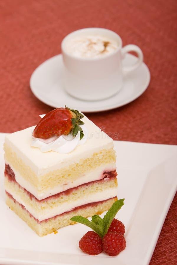 Dessert e caffè immagine stock libera da diritti