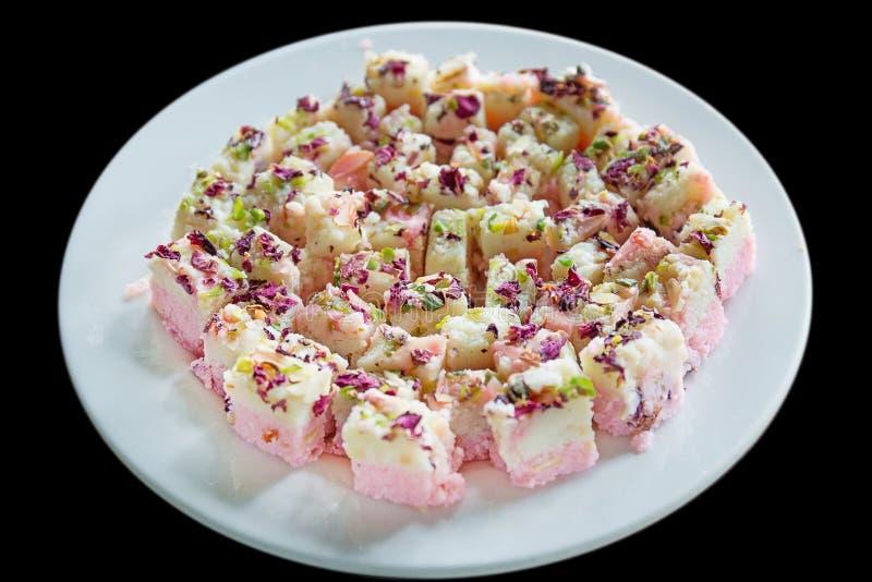 Dessert e dolci tradizionali indiani immagini stock libere da diritti