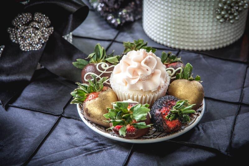 Dessert elegante immagine stock