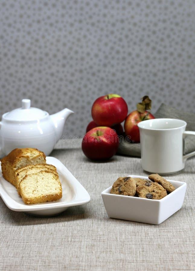 Dessert en Thee royalty-vrije stock foto's