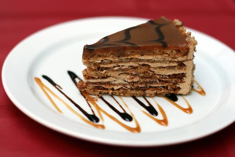 dessert.fancy cake stock photo