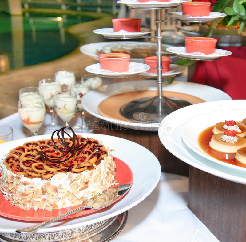 Download Dessert Food at buffet stock photo. Image of banquet, sweet - 6422250