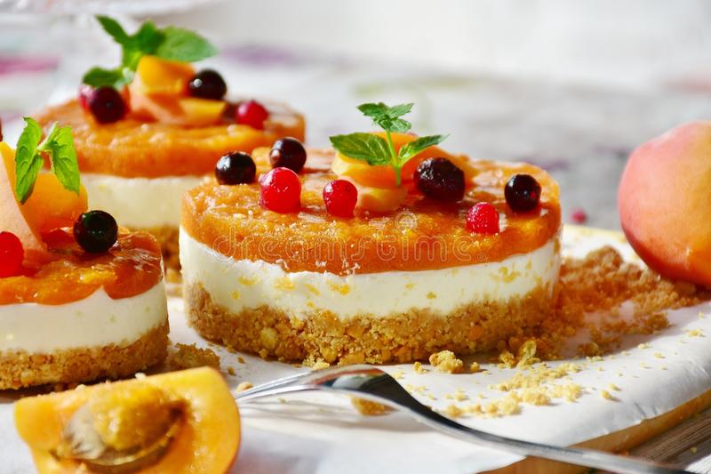 Dessert, Food, Cheesecake, Frozen Dessert stock photo