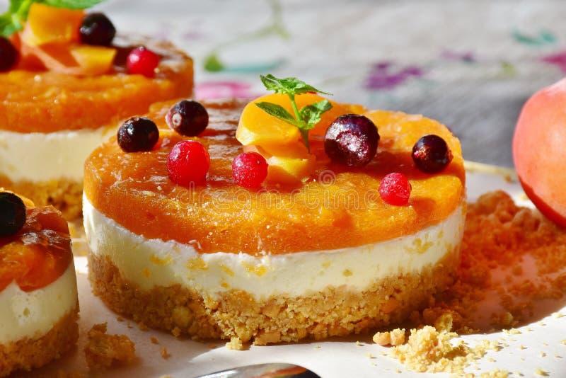Dessert, Food, Frozen Dessert, Fruit Cake royalty free stock photography