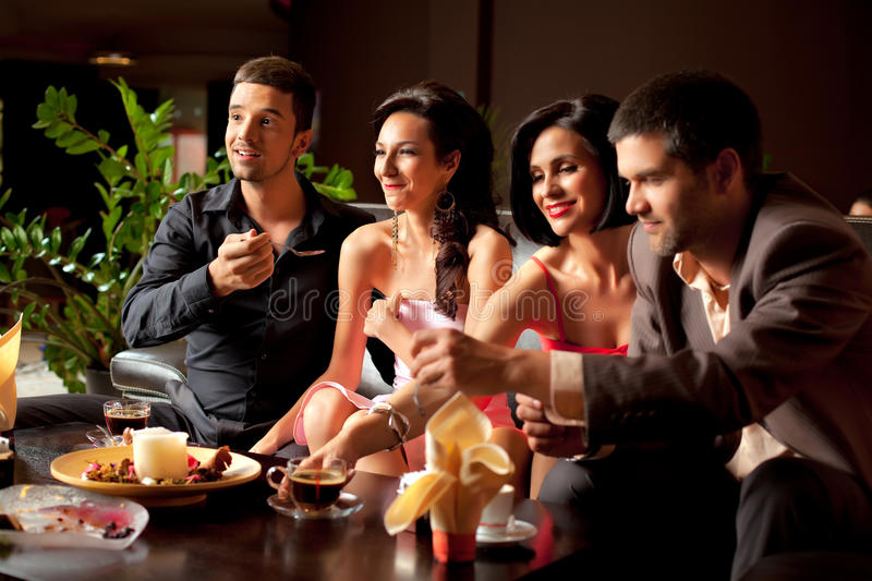 Download Dessert fun stock photo. Image of party, lady, relaxed - 20366644