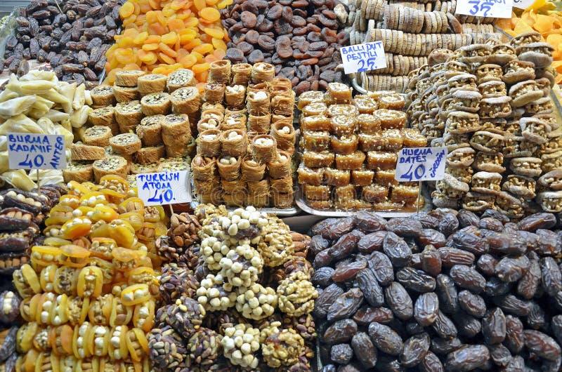 Dessert in grande bazar immagine stock libera da diritti