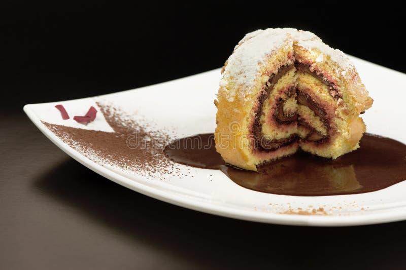 Dessert italiano immagini stock libere da diritti