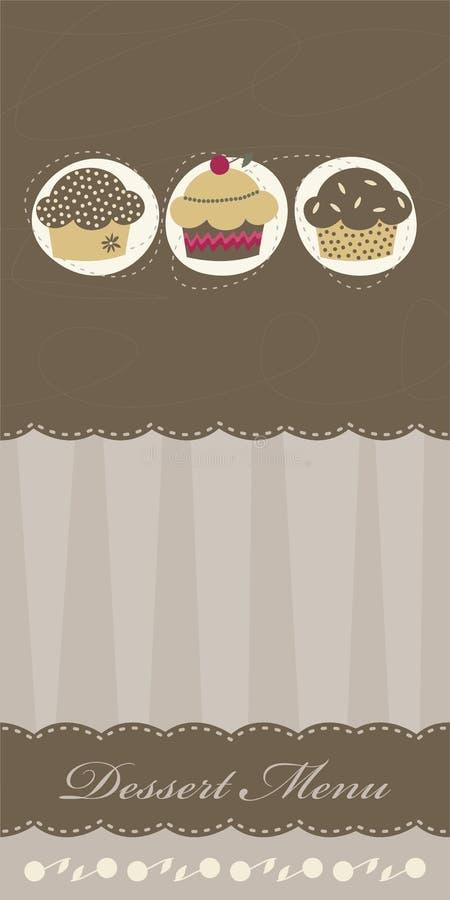 Download Dessert menu stock vector. Image of dessert, lunch, dish - 18919684