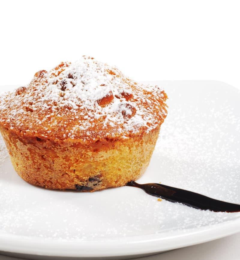 Dessert - Nutcake royalty-vrije stock foto
