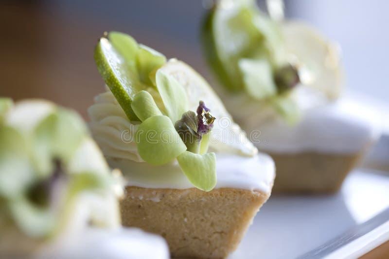 Dessert operati fotografie stock