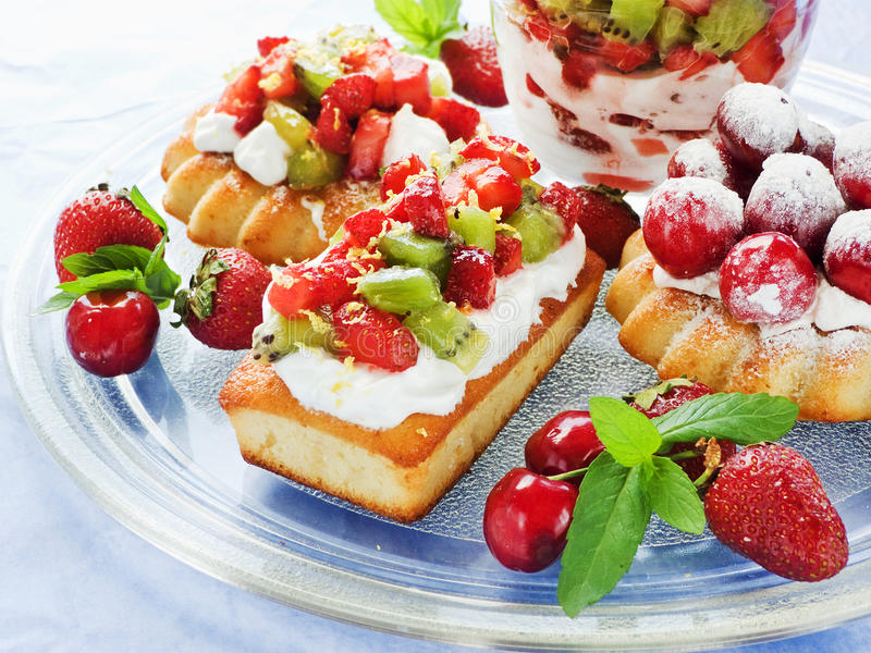 Download Dessert plate stock photo. Image of plate, layered, bright - 33318518
