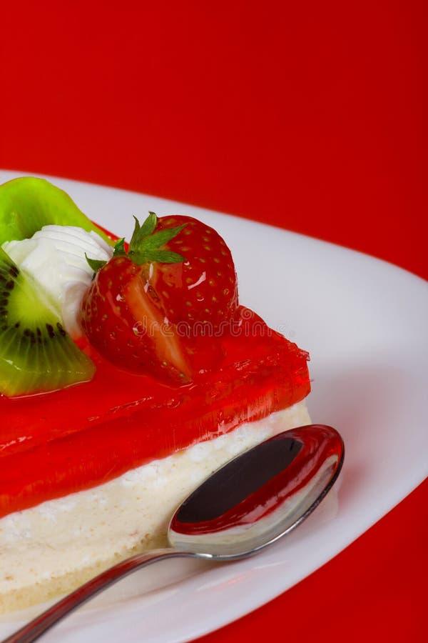 Dessert rouge images libres de droits