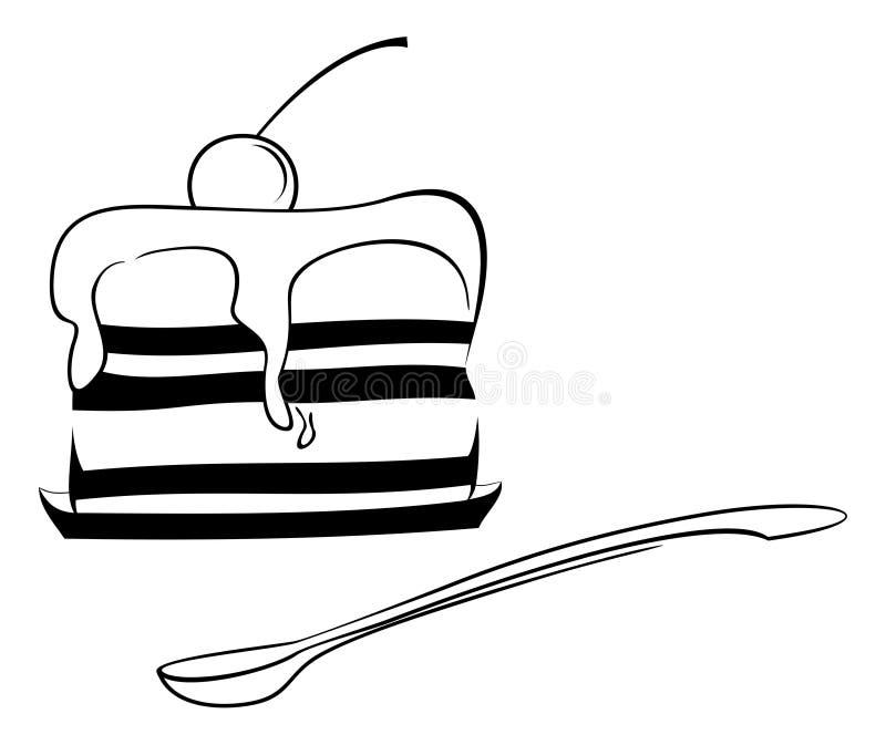 Dessert Sketch Stock Image