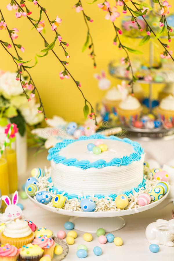 Easter brunch stock image