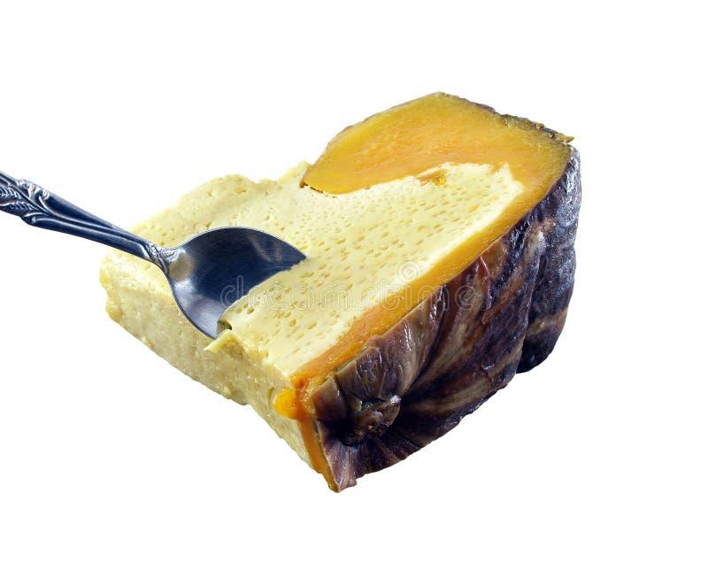 Dessert thaïlandais d'isolement sur le fond blanc photographie stock libre de droits