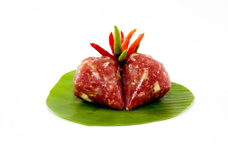 Dessert Thai royalty-vrije stock foto