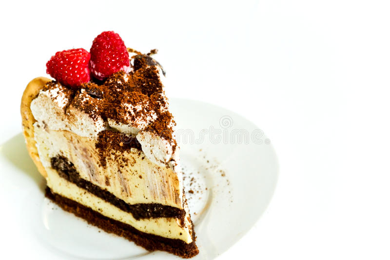 Dessert tiramisu royalty free stock photo