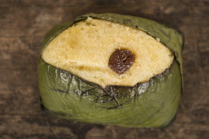 Dessert traditionnel d'ecuadorian de Quimbolitos photo libre de droits