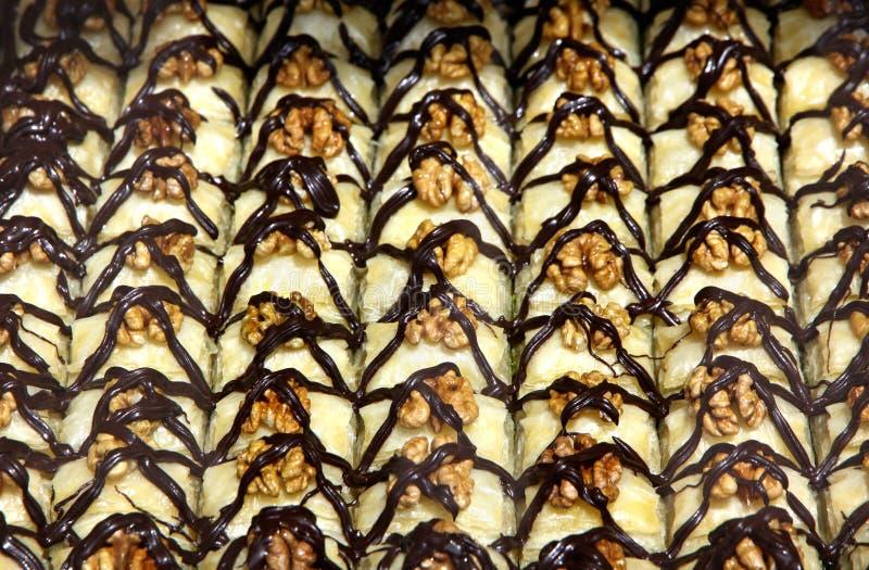 Dessert turco tradizionale del baklava immagine stock libera da diritti