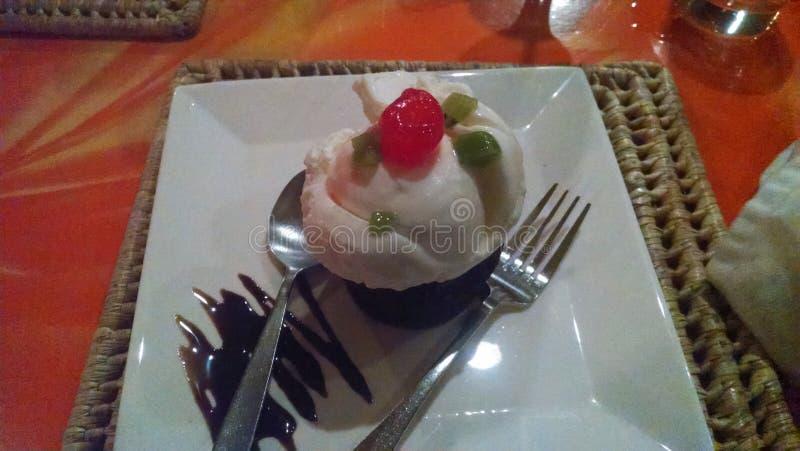 Dessert voor royalty-vrije stock fotografie