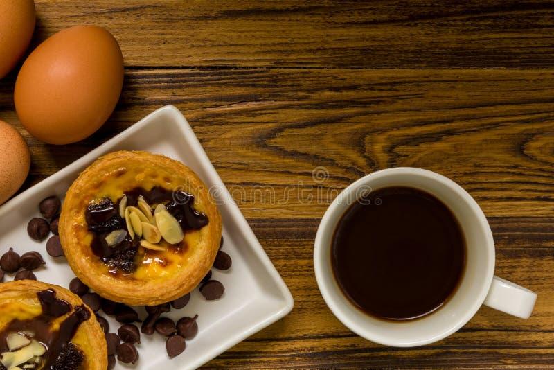 Dessert voor Koffieachtergrond/Dessert voor Koffie/Dessert voor royalty-vrije stock fotografie