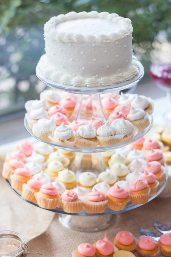 Dessertfeest stock afbeeldingen