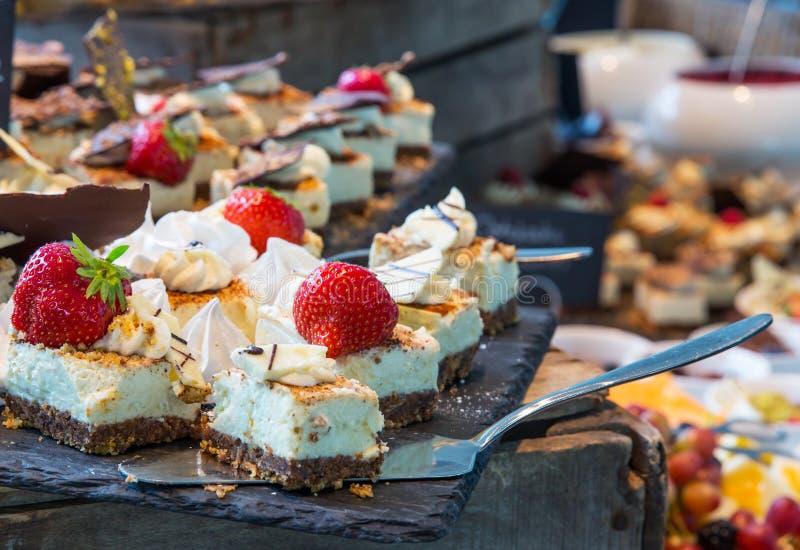 Desserts image libre de droits