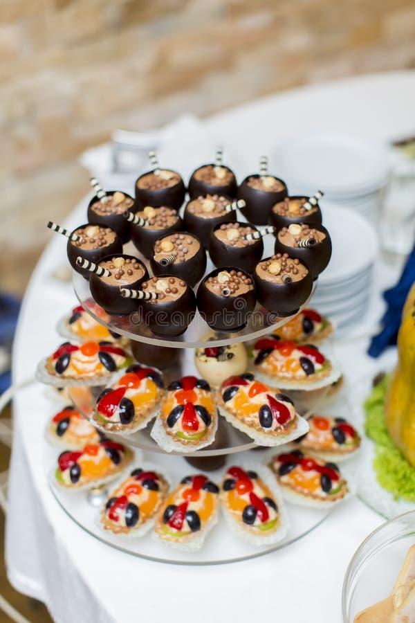 Desserts stock fotografie
