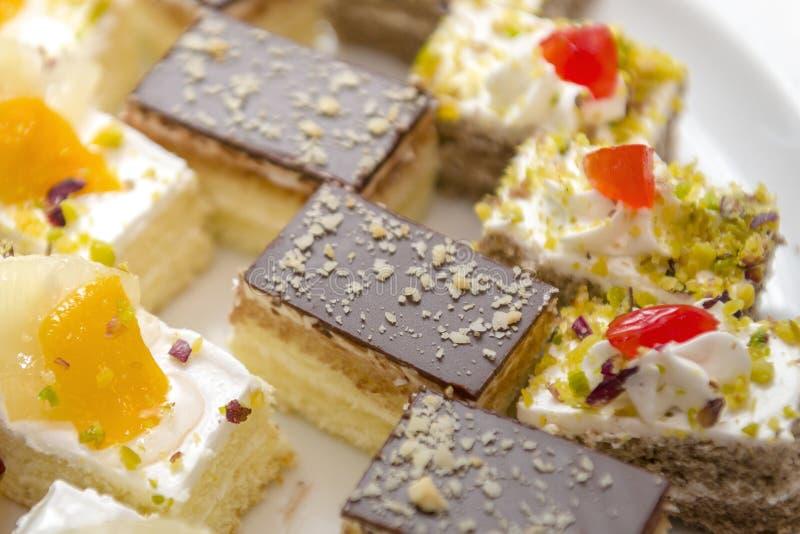 Desserts décoratifs photos stock