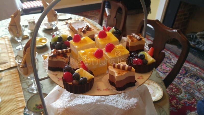 Desserts délicieux images libres de droits