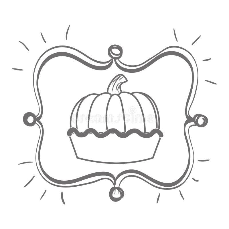 Desserts and sweets. Graphic design, illustration eps10 vector illustration