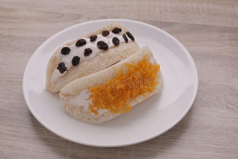 Desserts thaïlandais doux photo stock