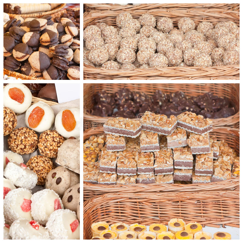 Download Desserts in wicker baskets stock photo. Image of appetizing - 33451934