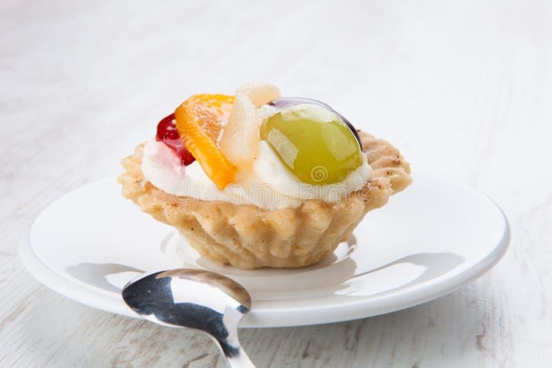 Desserttartlet royalty-vrije stock afbeelding